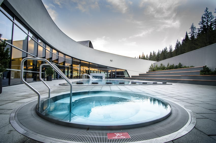 Aquamotion swimming pool Courchevel