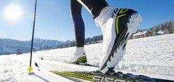 Cross Country Skiing Courchevel Le Praz
