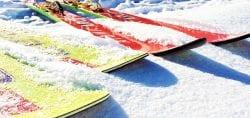 Skiing Courchevel Le Praz