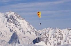 Paraglider Courchevel