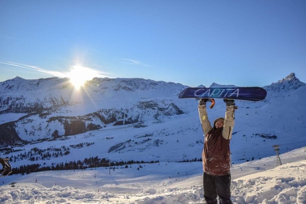 Working a ski season experience