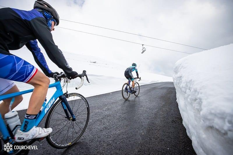 Courchevel new cycle route Col de la Loze