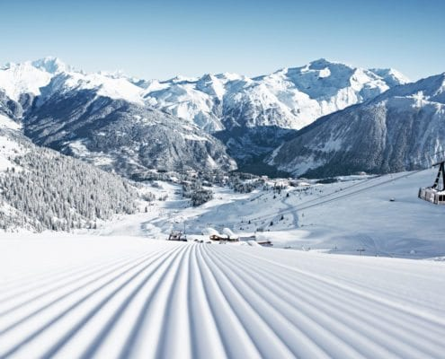 Three Valleys skiing