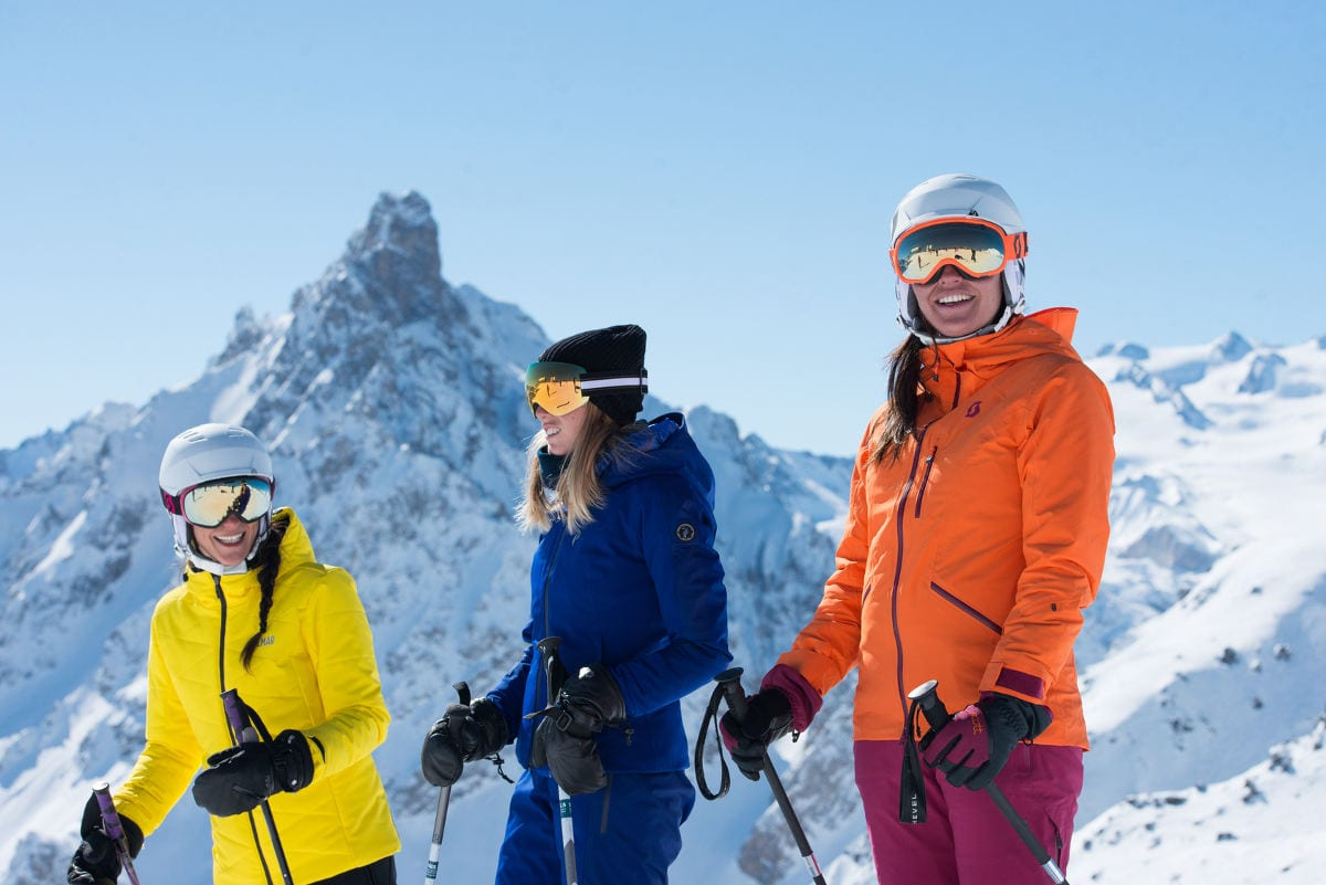 Best time to Ski Courchevel - Group Ski Holidays