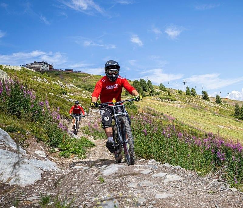 Mountain biking Courchevel 2020