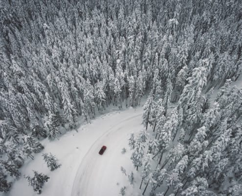Tips on driving to the Alps in winter