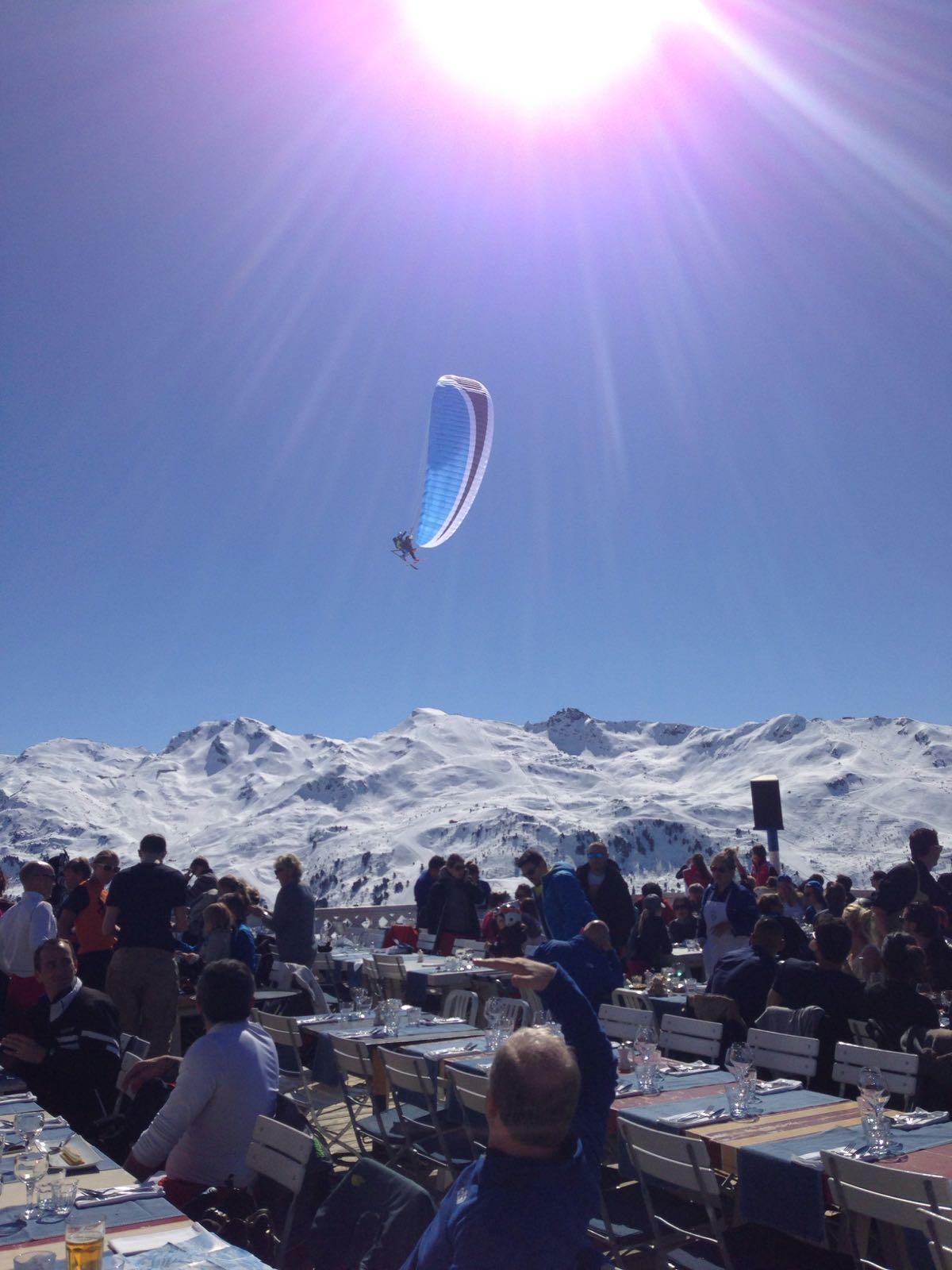 Courchevel mountain restaurants