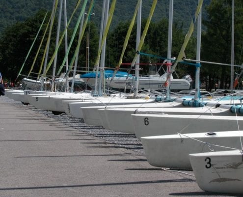 Sailing: activity holidays lake annecy