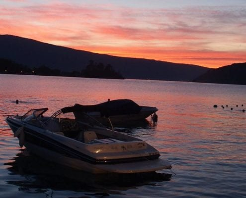 Activity holidays lake annecy france