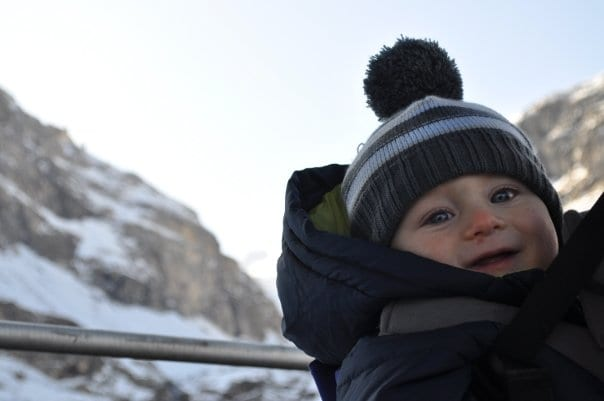 5fc2f5ec Taking a baby skiing | Advice and tips on skiing with an infant ...